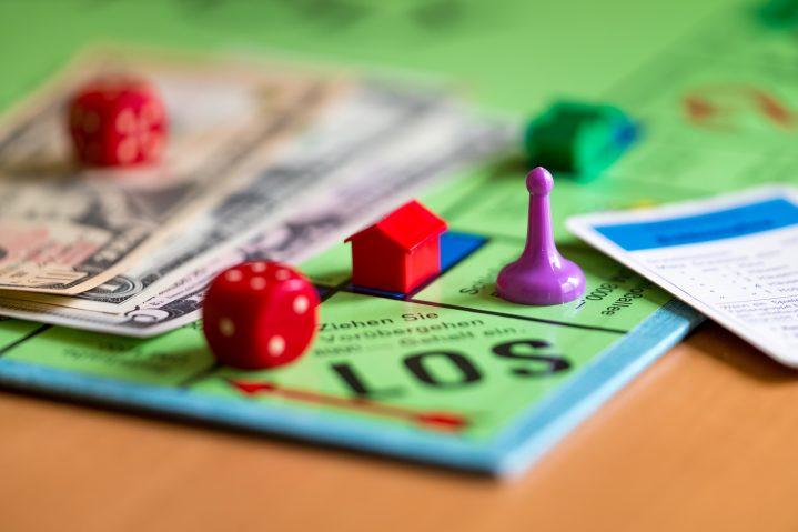 Spiel um Geld